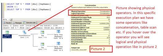 Physical Operators 1