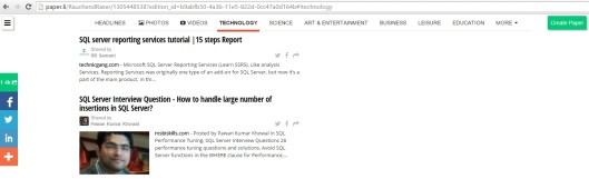 Pawan Khowal - Post added in SharePoint SQL Journal
